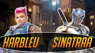 SINATRAA FINALLY ON MY TEAM FOR ONCE - Overwatch
