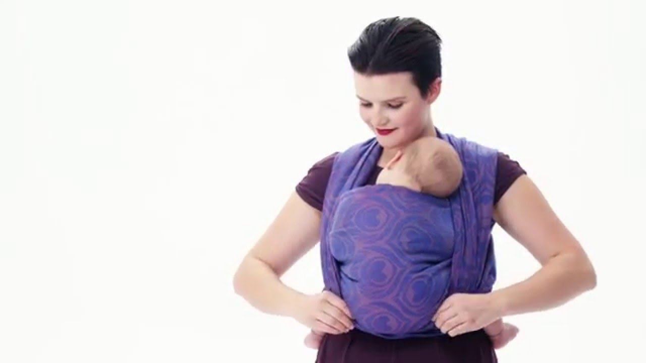 Front Wrap Cross Carry Fwcc Instructions To Hold Your Baby Or