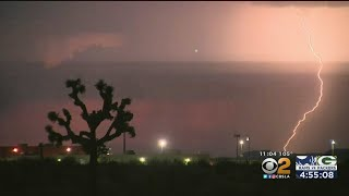 Extreme Heat, With Dry Lightning, Increases Chances Of Wildfire