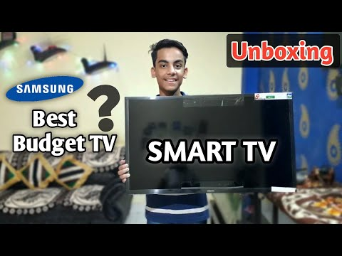 Best Budget Smart TV   Samsung Series 4 N4310 Unboxing & Full Review