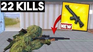 NEW WEAPON   MK47 MUTANT GAMEPLAY  22 K LLS Solo Vs Squad  PUBG Mobile