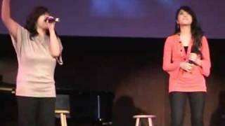 Shekinah Sanoy and Natalie Nilo singing I Believe by Fantasia