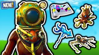 FORTNITE NEW DEEP SEA SKINS BUNDLE - NOUVEAU CHROMATIC WRAP CAMO! MISE À JOUR DE LA BOUTIQUE D'ARTICLES FORTNITE! VBUCKS GRATUIT