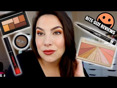 BITE-SIZE REVIEWS: 5 DRUGSTORE Products in 10 Minutes thumbnail