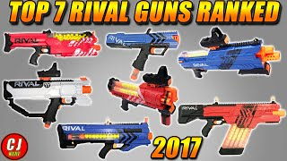 Nerf Buying Guide - Top 7 Nerf Rival Guns Ranked Episode #8