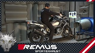 BMW R 1200 GS Mod. 17 (Euro 4) with REMUS complete system