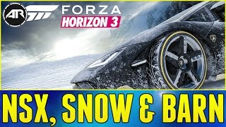 Forza Horizon 3 : SNOW EXPANSION, ARCTIC TRUCKS & 1000 HORSEPOWER ACURA NSX!!!