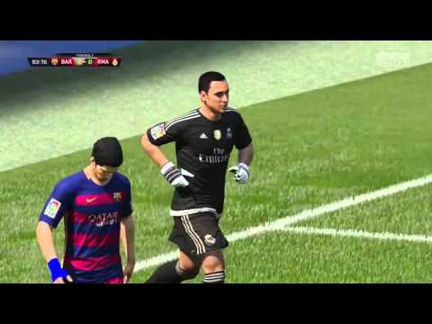 FIFA 16 Demo Gameplay – FC Barcelona vs. Real Madrid (Professional Difficulty)