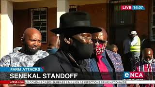 Senekal standoff | Cele speaks to media outside court
