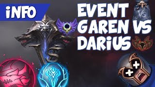 NOWY EVENT! Garen VS Darius   Omówienie