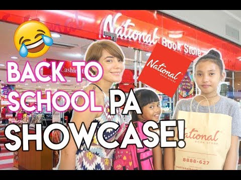 Mag BACK TO SCHOOL SHOPPING tayo! ( Nakakaexcite! ) with National Bookstore! | Nina Rayos 💋