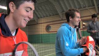 HEAD Tour TV: Radical Job Switch With Andy Murray