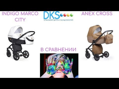 Купить коляску INDIGO Marco или переплатить за Anex Cross с пробегом???