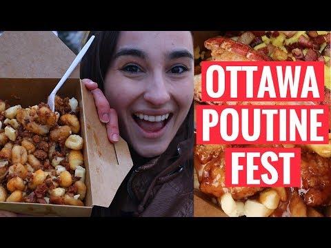 EXPLORING OTTAWA | Poutine Fest