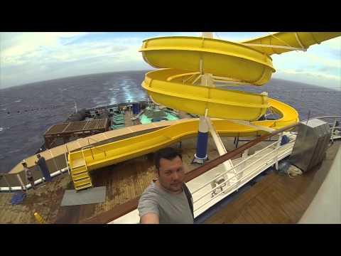 Carnival Legend Cruise Fun Sydney Vanuatu Mystery Island Mare New Caledonia GoPro Hero 3 Black