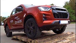 2021 Isuzu D-MAX 4x4 Pickup Truck - Interior, Exterior, Test Drive - BG Off-Road...