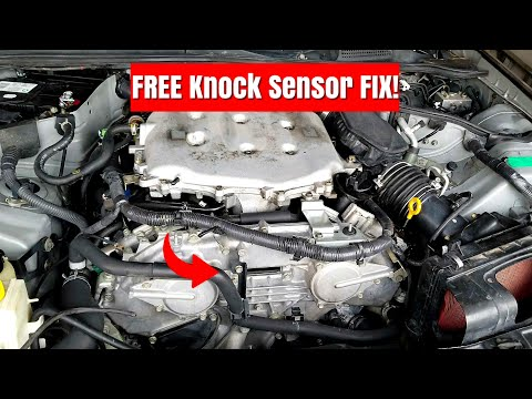 Nissan/Infiniti Knock  Sensor Code Easy Fix!   350z, G35,Fx35, Altima, Maxima & Vq35 Engine
