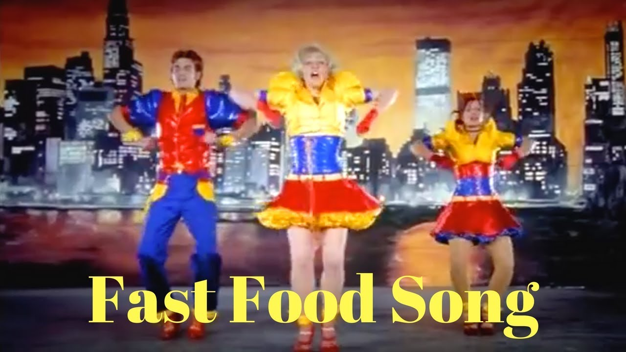 Fast Food Rockers Fast Food Song Dance Youtube
