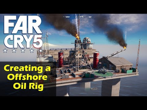 ► FAR CRY 5 Arcade | Building an Offshore Oil Rig (Deatmatch-Map) [Speedmapping]