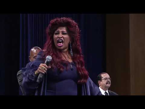 WATCH: Chaka Khan performs at Aretha Franklin's funeral