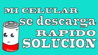 mi celular se descarga rápido solución. servicio técnico Cali colombia
