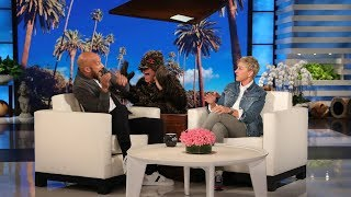 Keegan-Michael Key Gets Scared by a Spider