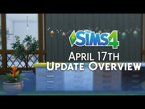 The Sims 4: Update Overview (April 17th, 2018)