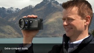 Формат 4K. Видеокамера Sony FDR AX 30