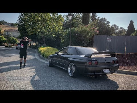 Can't Believe I Crashed The R32 GTR...