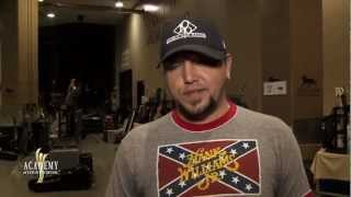 Behind the Scenes at Rehearsals: Jason Aldean - 2013 ACM Awards