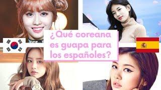 ¿Son guapas las coreanas para los españoles? - Ranking idol/actriz coreana