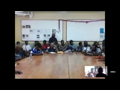 Live Broadcast Talk with Team East New Britain