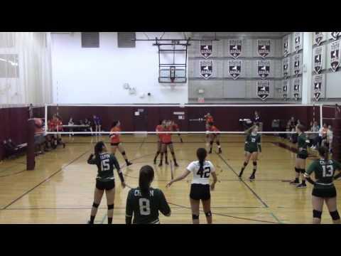 Varsity Volleyball: Chapin vs Fieldston at Brearley/Dalton Invitational 2016