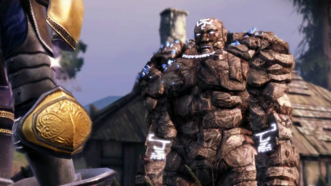 Dragon Age Origins Part 61 Golem (Shale) Final 720p - YouTube Shale Dragon Age