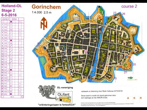 Holland-OL 3 Days Orienteering event, stage 2 - Goudrichem 6 May 2016