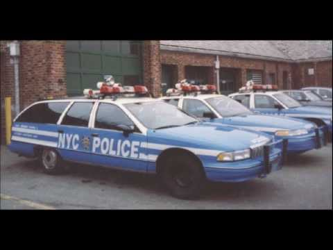 Most of the NYPD police car fleet 1970-2011