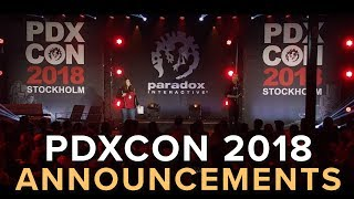 PDXCON 2018 Announcement Show