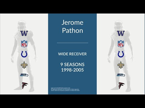 Jerome Pathon: Football Wide Receiver