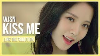 Download Video Cosmic Girls (WJSN) - KISS ME Line Distribution (Color Coded) MP3 3GP MP4
