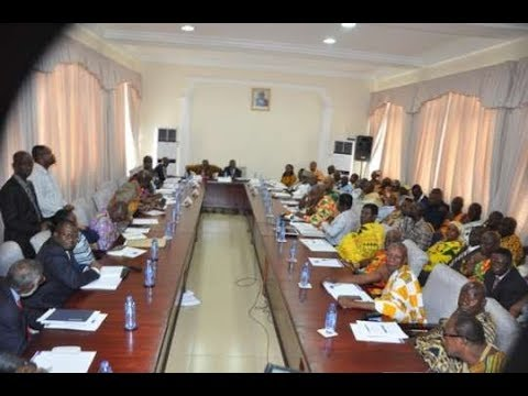 Commission of Enquiry for new regions starts public hearing