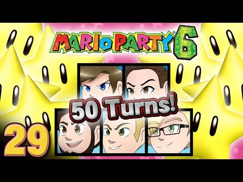Mario Party 6: 50 TURNS! 100k Special! - EPISODE 29 - Friends Without Benefits
