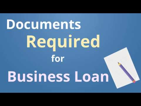 Documents Required For Business Loan  Cash Suvidha  Youtube