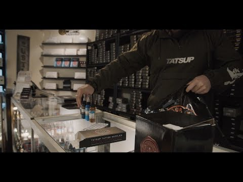 Tatsup Tattoo Supplies - Warehouse Tour Ft. Printsup And Empire Melbourne