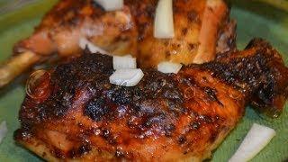 poulet braisé / braised chicken (cuisine Africaine)