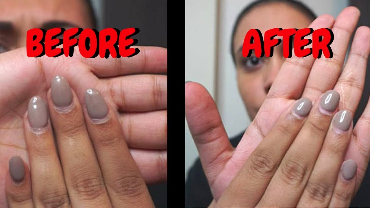 How to Trim Acrylic Nails at Home - YouTube