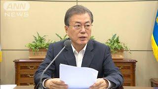 輸出規制で韓国大統領「撤回求める」対抗措置示唆も(19/07/08)
