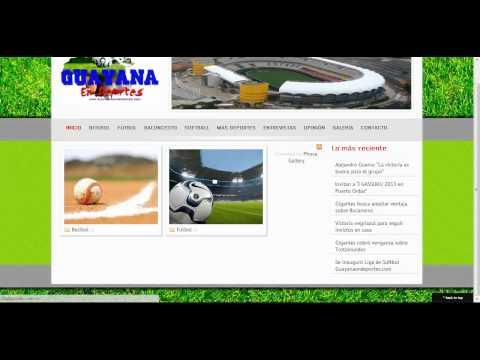 galeria Guayana en Deportes
