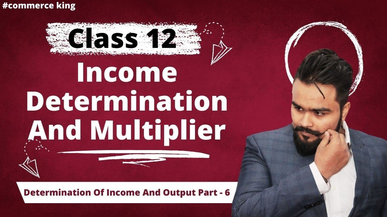 #65, Income determination and equilibrium | Short run equilibrium | Class  12 macroeconomics