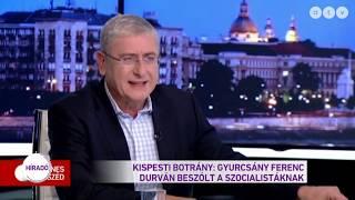 Kispesti botrány: Gyurcsány Ferenc durván beszólt a szocialistáknak