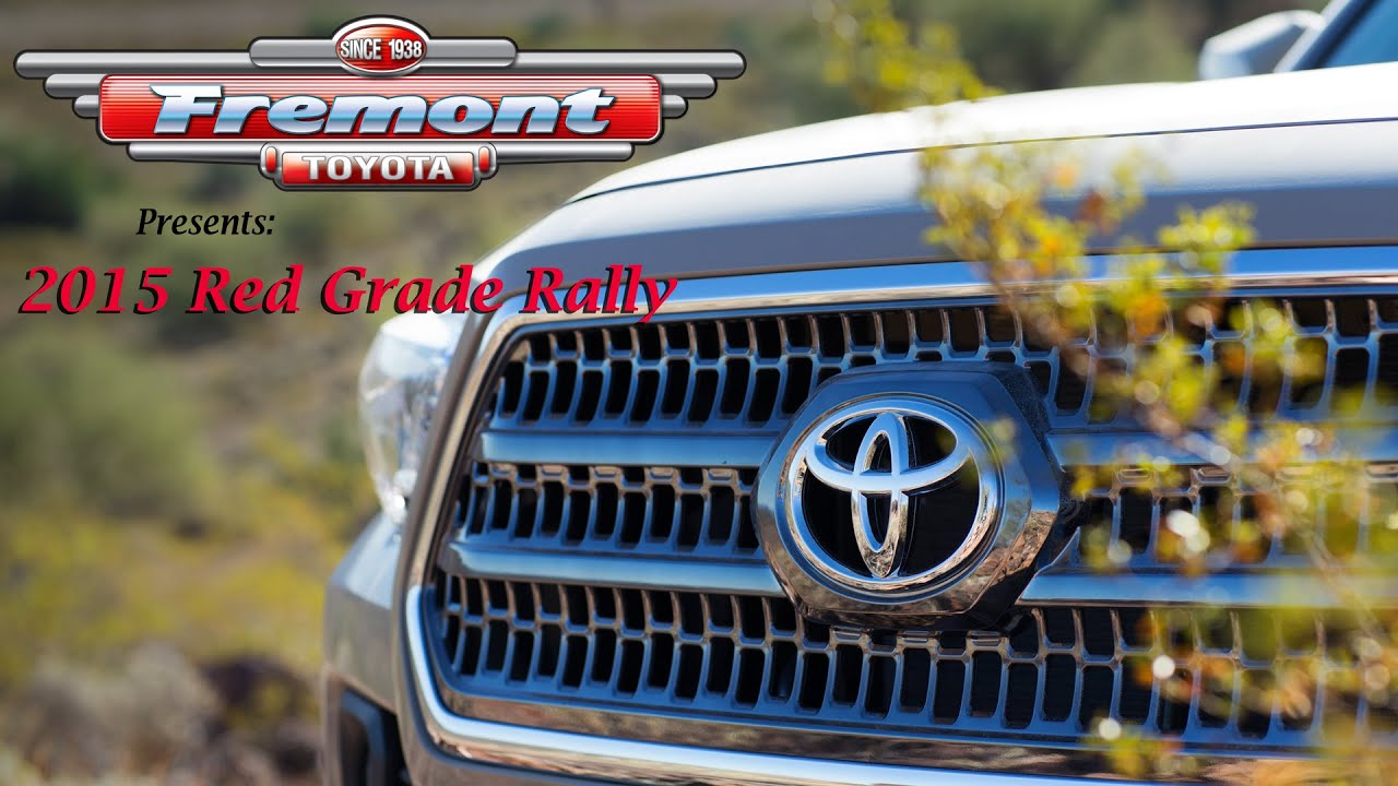 2015 red grade rally presented by fremont toyota of sheridan youtube